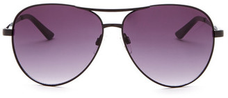 Kenneth Cole Reaction Women&s Aviator Sunglasses $48 thestylecure.com