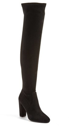 Women's Steve Madden 'Emotions' Stretch Over The Knee Boot $99.95 thestylecure.com