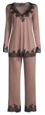 Natori Josie Charlize Two-Piece Pajama Set