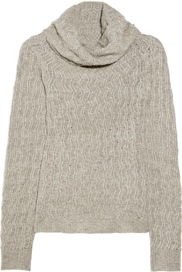 Inhabit Zigzag wool-blend sweater