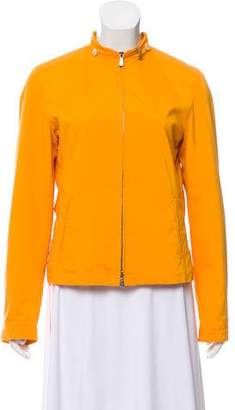 Loro Piana Collarless Zip-Up Jacket