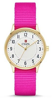 Chaps チャップスピンクレディース腕時計