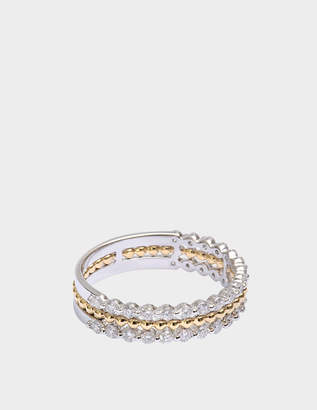 Vanessa Tugendhaft Exclusive Princess Ring in gold and diamonds