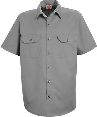 JCPenney Red Kap ST62 Utility Uniform Shirt-Big & Tall