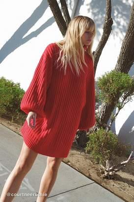 Urban Outfitters Jill Turtleneck Sweater Mini Dress