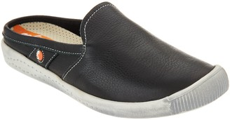 Fly London Softinos by Washed Leather Mules- IMO