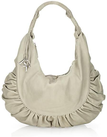 Christian Dior Gipsy Extra Large Zipped Hobo