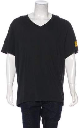 James Perse Graphic V-Neck T-Shirt
