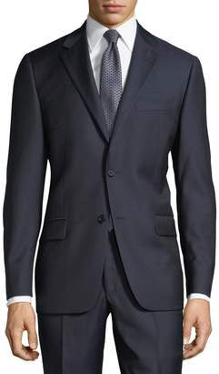 Hickey Freeman Men's USA-Made Wool Two-Piece Suit