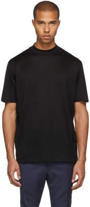 Lanvin Black High Collar T-Shirt