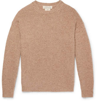 Remi Relief Distressed Mélange Cashmere Sweater