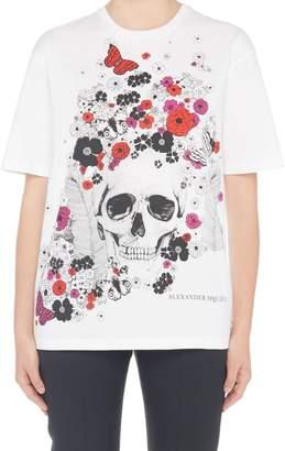 Alexander McQueen (アレキサンダー マックイーン) - Alexander Mcqueen 'skull' T-shirt