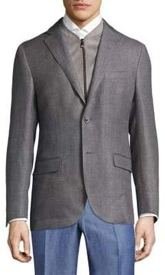 Corneliani Slim Wool Jacket