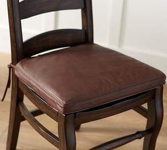 Pottery Barn PB Classic Leather Dining Chair Cushion