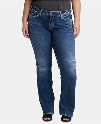 Silver Jeans Co. Trendy Plus Size Bootcut Jeans