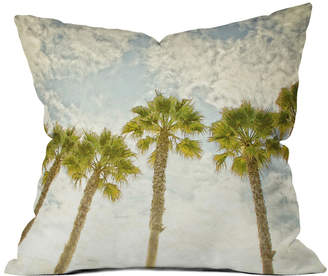 Deny Designs Palm Trees Decorative Outdoor Pillow