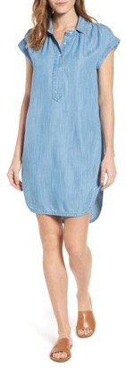 Women's Vineyard Vines Chambray Shirtdress $138 thestylecure.com