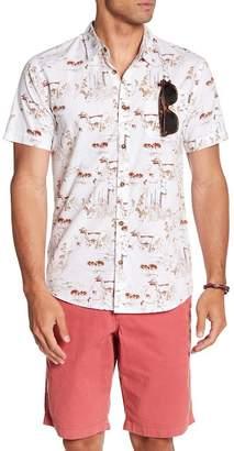 O'Neill Kruger Short Sleeve Print Modern Fit Shirt