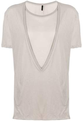 Unravel Project double collar T-shirt