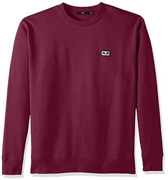 Obey Men's All Eyez Crew Neck Sweatshirt