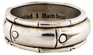 John Hardy Bamboo Spinner Ring