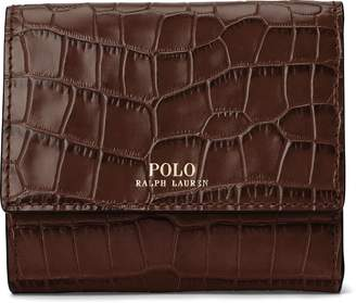 Ralph Lauren Leather Compact Wallet