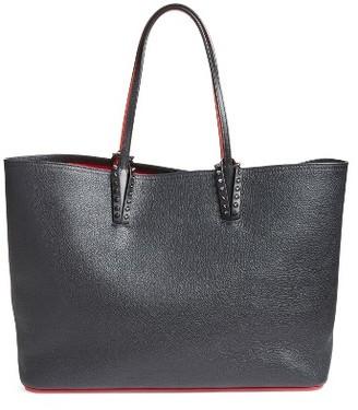 Christian Louboutin Cabata Calfskin Leather Tote - Black $1,250 thestylecure.com