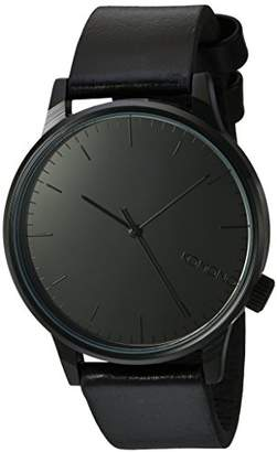 Komono Unisex Analogue Quartz Watch with Genuine Leather Strap – KOM-W2890
