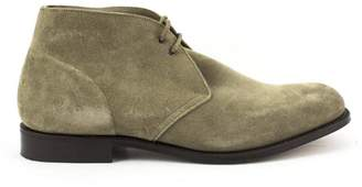Church's Sahara Two-eyelet Chukka Boot In Castoro Suede Stone Color