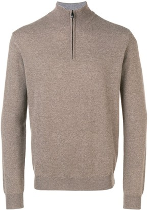 Corneliani front zip sweater