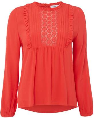 Suncoo Louise Crochet Blouse