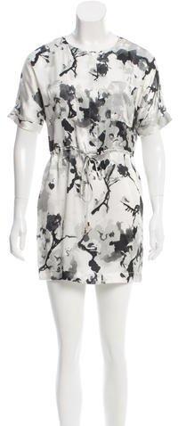 BalmainPierre Balmain Printed Silk Dress
