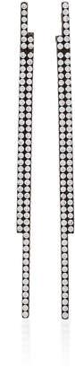 As 29 AS29 Bolo Diamond & 18K Black Gold Stick Earrings