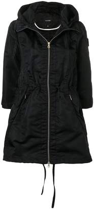 Duvetica hooded water-resistant coat