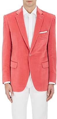 Cifonelli Men's Velvet One-Button Tuxedo Jacket $3,495 thestylecure.com