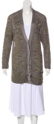 Aviu Embellished Knit Cardigan