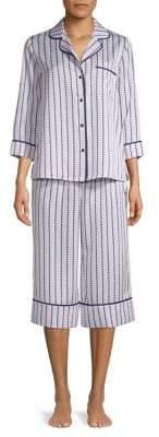 Kate Spade Two-Piece Capri Pant Pyjama Set
