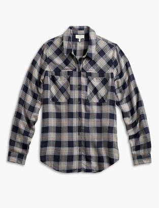 Lucky Brand Plaid Yoke Shirt