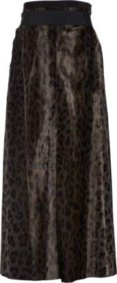 Schumacher Dorothee Leopard Deluxe High Waisted Skirt