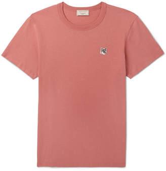 MAISON KITSUNÉ Cotton-Jersey T-Shirt