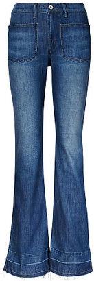 Ralph Lauren Denim & Supply High-Rise Wide-Leg Jean $125 thestylecure.com