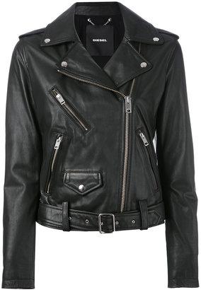 Diesel biker jacket $772.79 thestylecure.com