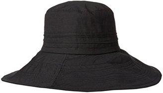 Gottex Women's Seychelle Cotton Packable Sun Hat Rated $66 thestylecure.com