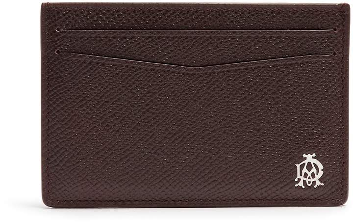 Alfred DunhillDUNHILL Cadogan grained-leather cardholder