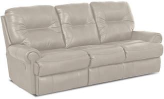 Asstd National Brand Brinkley Leather Reclining Motion Sofa