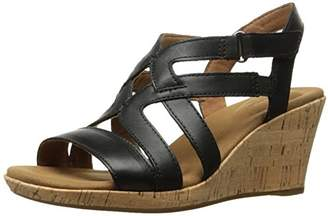 Rockport Women's Briah Caged Wedge Sandal