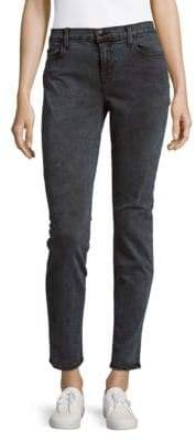 J Brand Cotton-Blend Low-Rise Denim Pants