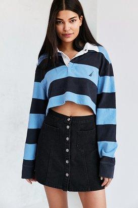 BDG Denim Button-Front Skirt $59 thestylecure.com