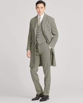 Ralph Lauren Wool Herringbone Topcoat