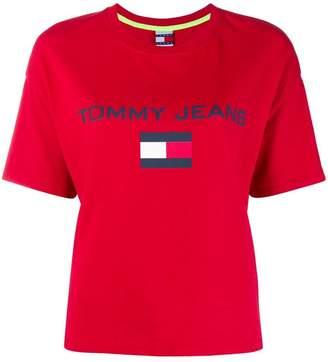 Tommy Hilfiger (トミー ヒルフィガー) - Tommy Hilfiger ロゴプリント Tシャツ